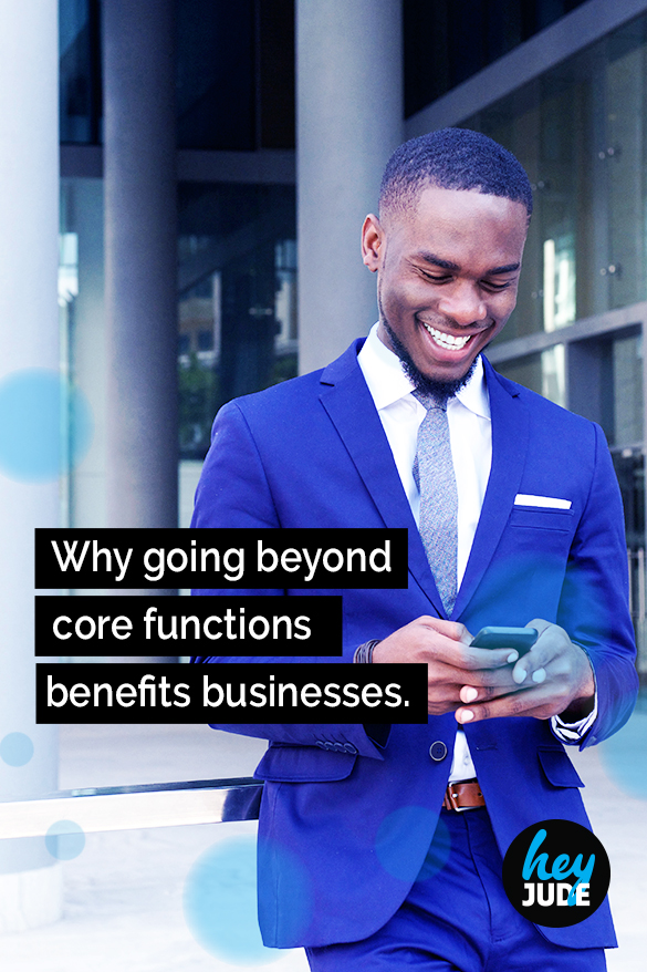 Why you should offer benefits beyond your core business